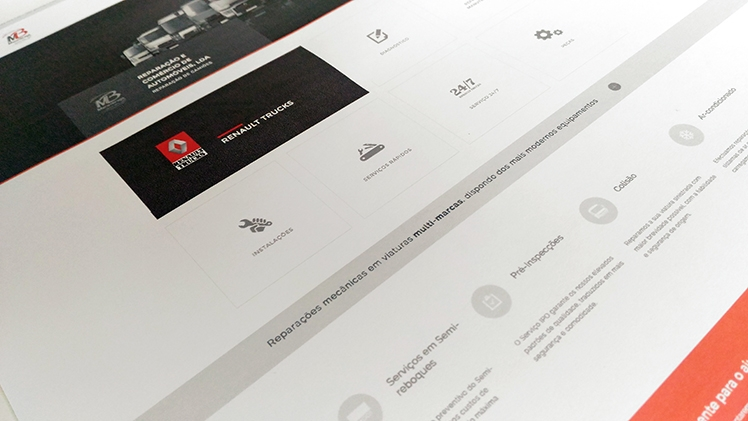Zalox creates Mecanibraga's new website